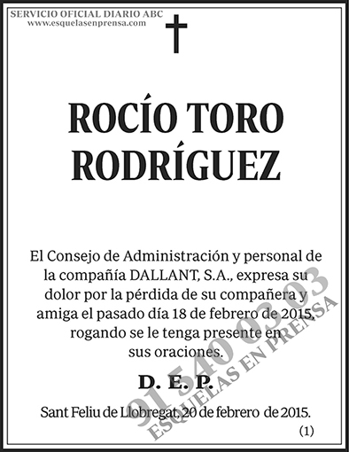 Rocío Toro Rodríguez
